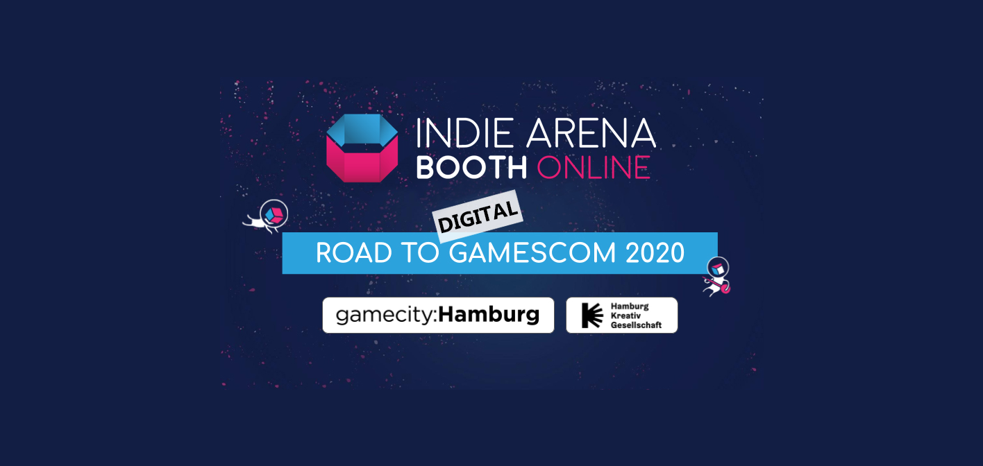 gamescom 2020: digitale gamecity:Hamburg booth at the Indie Arena Booth Online